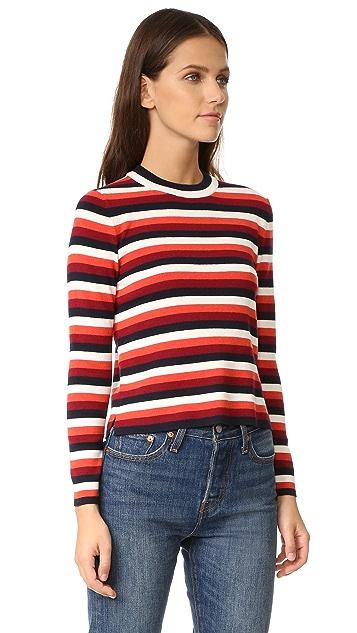 Whistles Multi Stripe Sweater