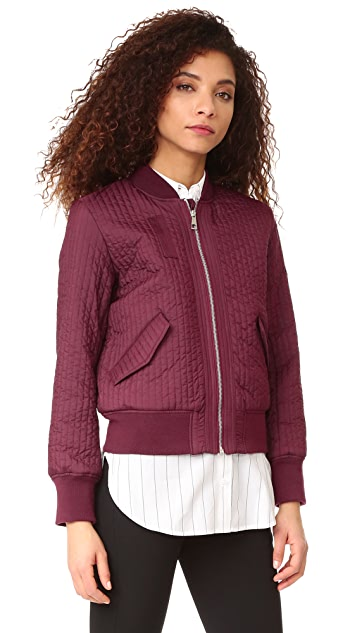 Whistles Quilted Bomber