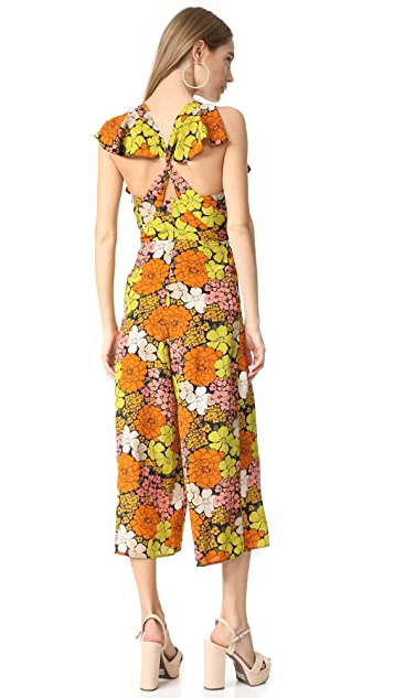 Whistles Celina Tangerine Dream Jumpsuit