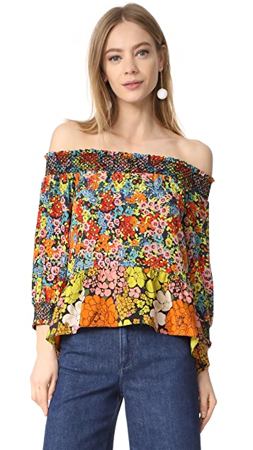 Whistles Off Shoulder Mandy Top