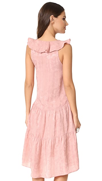 Whistles Stephanie Ruffle Dress