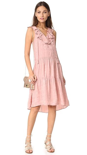 Whistles Stephanie Ruffle Dress