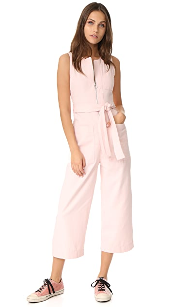 Whistles Alex Tie Jumpsuit