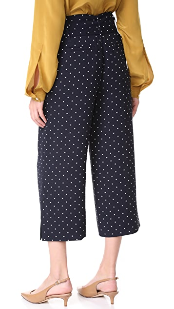 Whistles Spot Crop Trouser