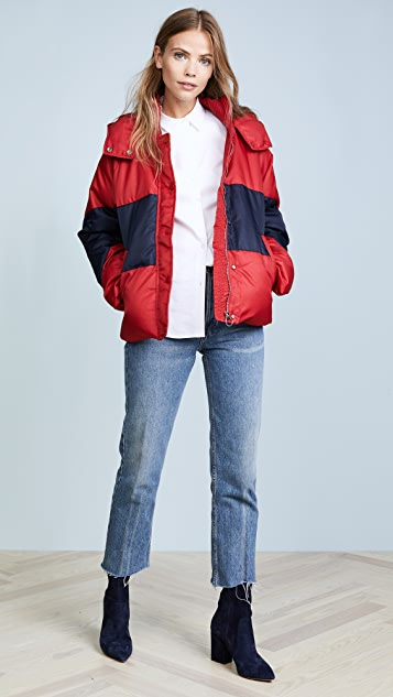 Whistles Iva Casual Puffer Jacket