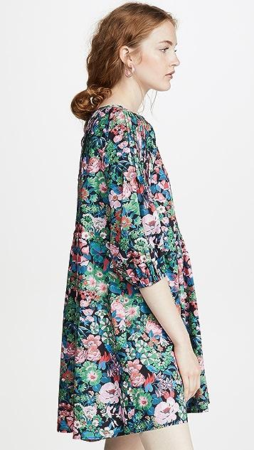 Whit 细缝连衣裙