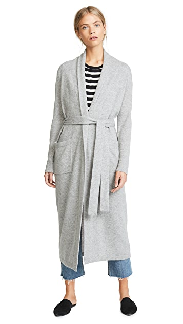 White + Warren Luxe Cashmere Robe