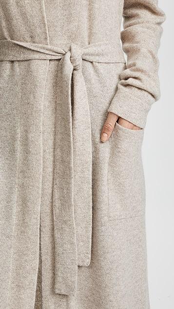 White + Warren Luxe 开司米羊绒长袍