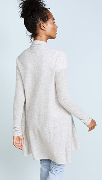 White + Warren Essential Trapeze Robe