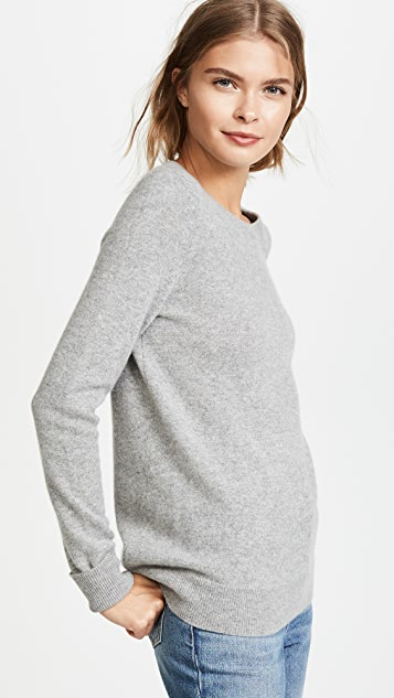 White + Warren Essential Lounge Sweater