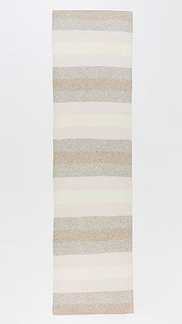 White + Warren Cashmere Ombre Stripe Scarf