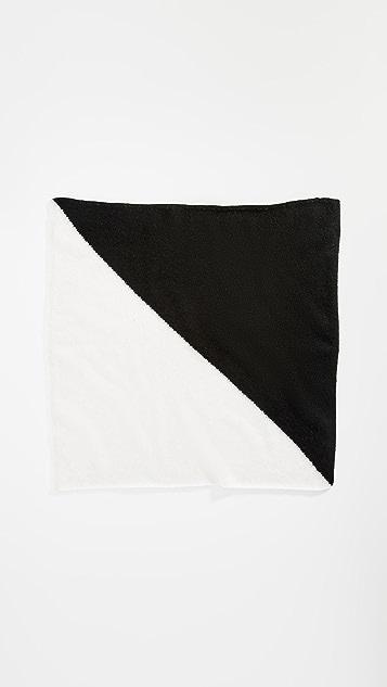 White + Warren Cashmere Colorblock Neckerchief