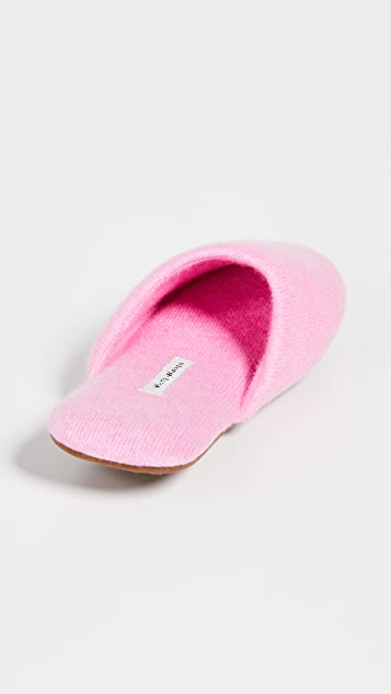 White + Warren Cashmere Slide Slippers