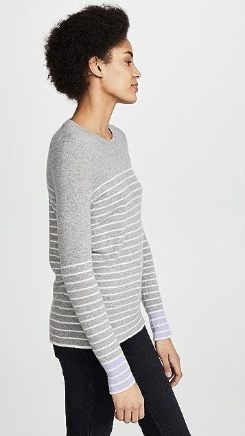 White + Warren Essential Cashmere Crew Neck Sweater