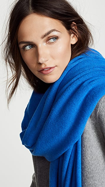 White + Warren Cashmere Travel Wrap Scarf