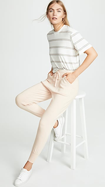 White + Warren Drawstring PJ Pants