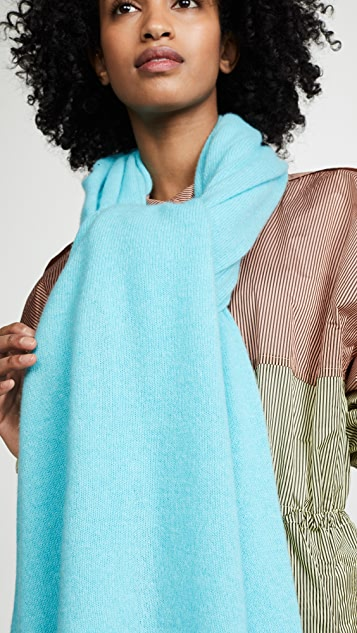 White + Warren Travel Wrap Cashmere Scarf