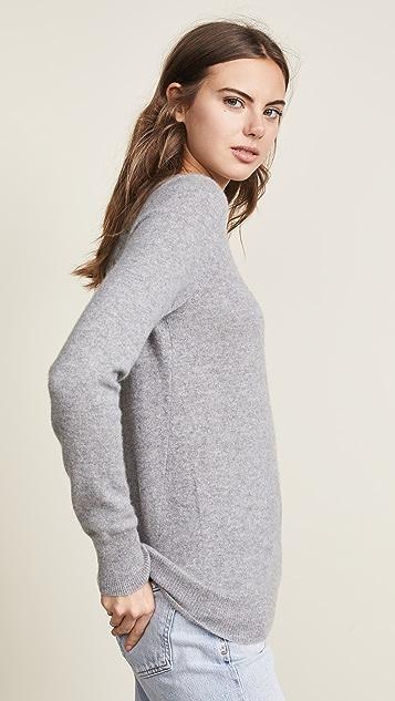 White + Warren 基本款开司米羊绒毛衣