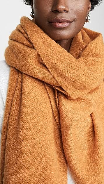 White + Warren 旅行风格开司米羊绒环绕式设计
