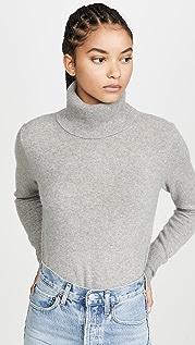 White + Warren Essential Cashmere Turtleneck Sweater