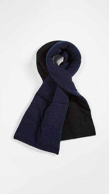White + Warren Кашемировый шарф с мягкой подкладкой