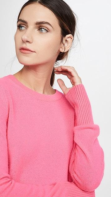 White + Warren Essential Crew Neck Cashmere Sweater