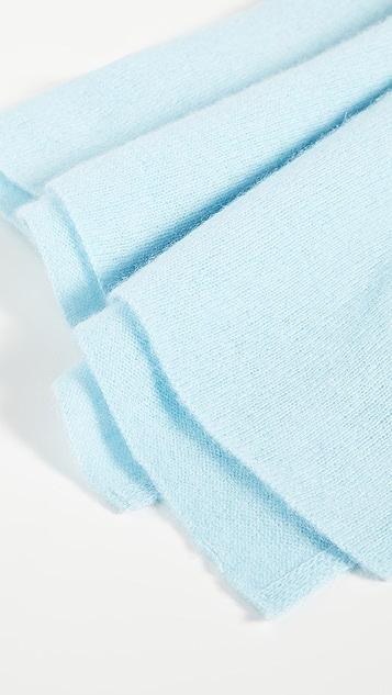 White + Warren 开司米羊绒旅行风缠绕式围巾
