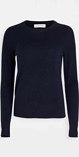 White + Warren - Cashmere Long Sleeve Crew Neck Sweater
