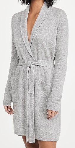 White + Warren - Cashmere Short Robe