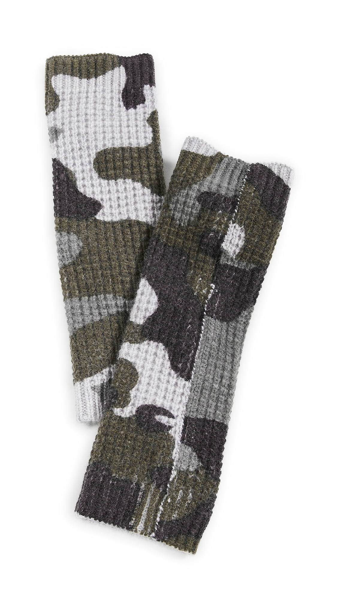 White + Warren Cashmere Camo Thermal Arm Warmer