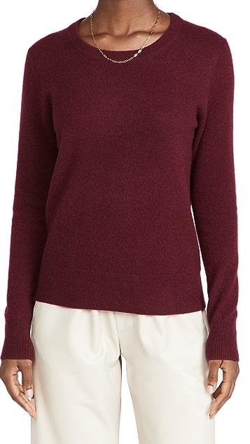 White + Warren Cashmere Long Sleeve Classic Cashmere Shirt