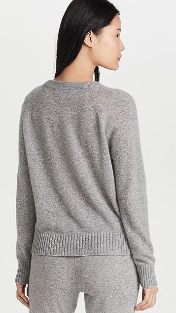 White + Warren Cashmere Long Sleeve Sweater