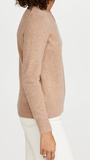 White + Warren Classic Crewneck Cashmere Sweater