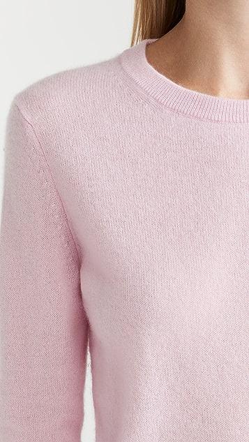 White + Warren Cashmere Classic Crew Neck Sweater