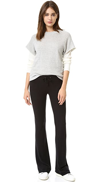 Wildfox Basic Flare Sweatpants