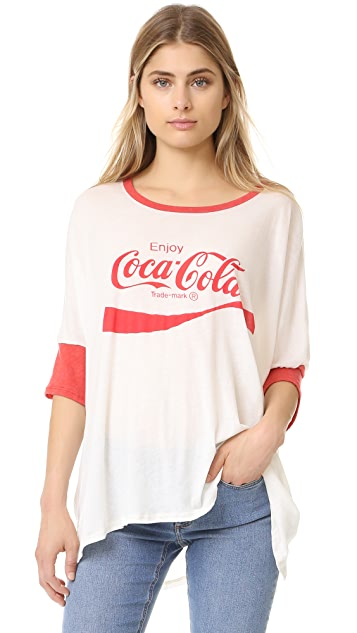 Wildfox Coca Cola Morning T-shirt ...