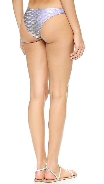 Wildfox Mermaid Reversible Bikini Bottoms