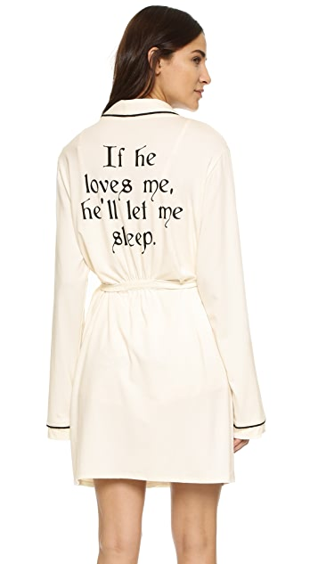 Wildfox If He Loves Me Robe