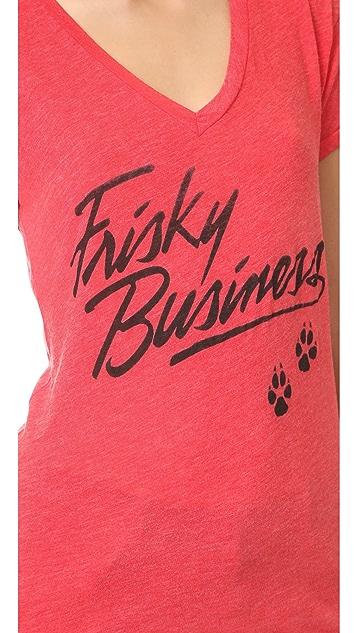 Wildfox Frisky Business Tee