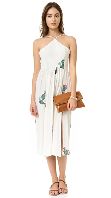 Wildfox Cactus Flower Back Tie Dress