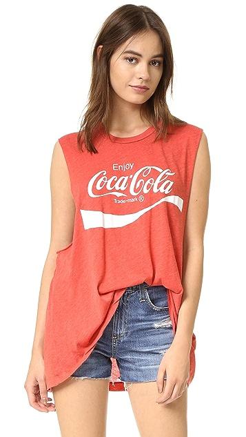 Wildfox Coca Cola Muscle Tank