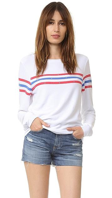 16aefd8e2cec9 Wildfox U.S. Gladiator Baggy Beach Sweatshirt   SHOPBOP