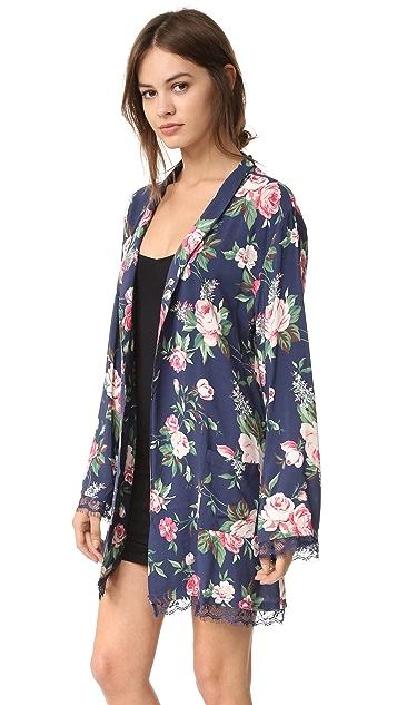 Wildfox Gypsy Rose Lace Robe