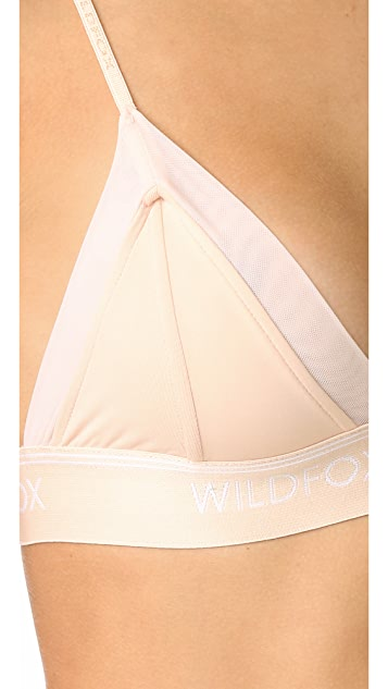 Wildfox Mesh Triangle Bra