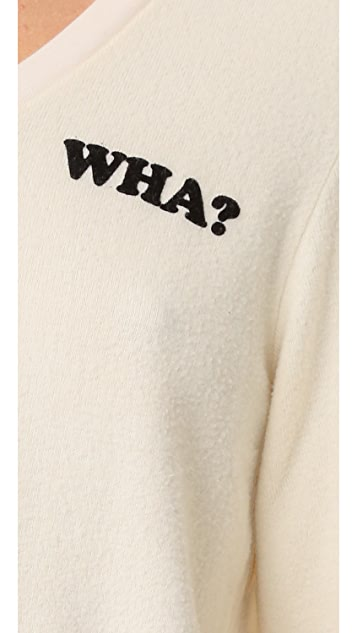 Wildfox Wha? Baggy Beach Sweatshirt