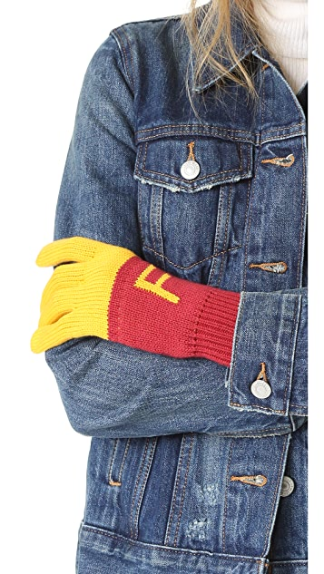 Wildfox Super Fries Finger Food Gloves