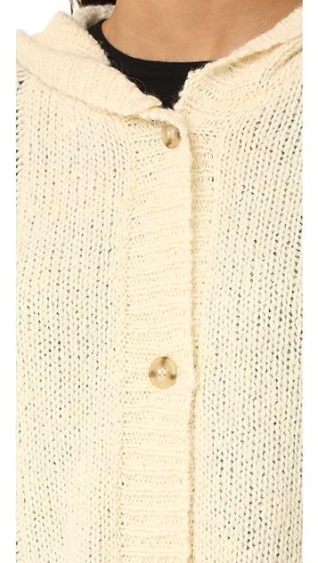 Wildfox Cable Blanket Hoodie