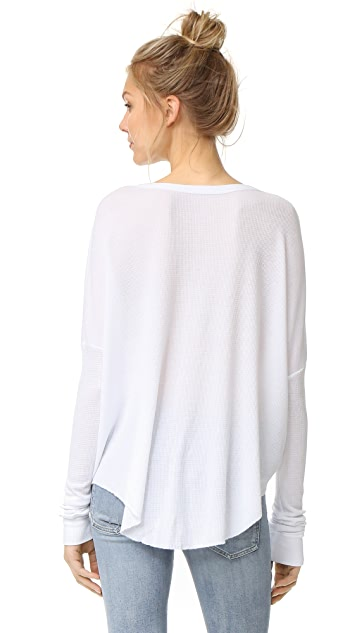 Wildfox Unwrap Me Thermal Top