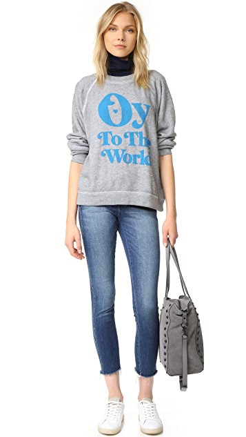 Wildfox Oy To The World Sweatshirt
