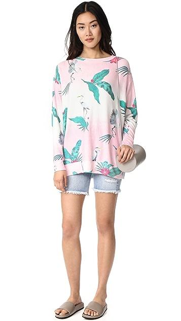 Wildfox Hot Tropics Sweatshirt